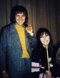 Sonny & Cher 1965 - Photo by Rick Gillar, Asbury Park NJ