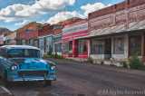 B-Open-Blue Chevy on Erie Street