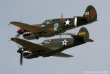 P-40s over Geneseo