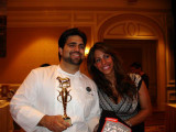 Chef Victor and wife Susanne