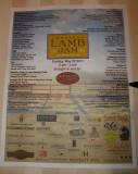 The Lamb Jam invite