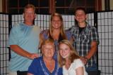 Tim, Megan, Colton, Mom and Jordan