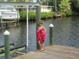Renee on the Susinski dock