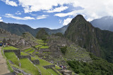 Machu Picchu looking north