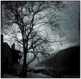 Night fall in Mount Athos