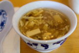1/24/2012  A cup of Hot and Sour Soup