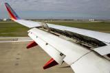 Landing in Houston