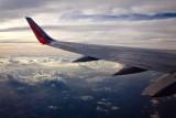 Somewhere over Texas