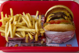Double-Double Burger Animal Style and Well Done Fries