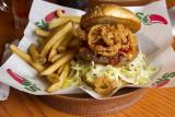 Shiner Bock BBQ Burger