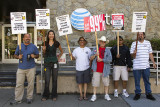 8/8/2012  Two day strike at AT&T