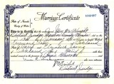 My parent's Marriage Certificate