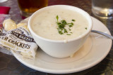9/1/2012  Cup of New England Clam Chowder