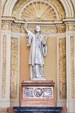Statue of St Francis Xavier at St Francis Xavier Roman Catholic Church in LaGrange Il IMG_7589.jpg