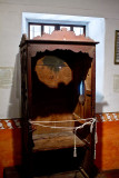 Confessional probably used by Blessed Junipero Serra at Mission San Carlos Borromeo del Rio Carmelo _MG_2483