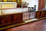 Altar rail at Mission San Carlos Borromeo del Rio Carmelo Roman Catholic Church_MG_2411.jpg