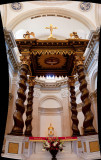 Altar of Our Lady of the Most Holy Trinity Roman Catholic Chapel at Thomas Aquinas Collecge.jpg