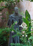 Statue of Fr Junipero Serra at  Mission San Carlos Borromeo del Rio Carmelo Roman Catholic Church Carmel CA _MG_5206.jpg