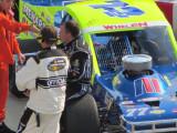 Ryan Newman Racing a Late Model