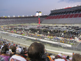 Truck race about to begin at Bristol
