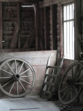Upstairs at the old grist mill