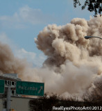 Prudential Life Insurance building implosion Houston Texas