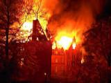 Fire in Sokolowsko