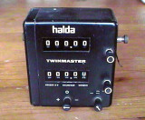 Halda Twinmaster Timer Alloy