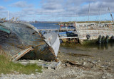 Abandoned boats in Whalebone Cove – 1