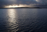 Early morning approach to Port Stanley, Falkland Islands
