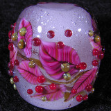Christmas Wreath Size: 0.81 x 0.80  Price: SOLD