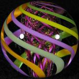 Pastel Hoop Dreams  Size: 1.25 Price: SOLD