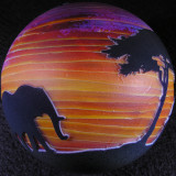 Sunset Frolic  Size: 2.89  Price: SOLD