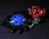 Masked Amphibian  Size:  2.83 x 1.68  Price: SOLD