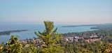 View of Copper Harbor