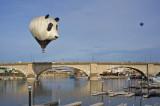 Panda at the London Bridge