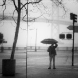 Rainy Day Self-Portrait