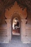 Touch the Earth Buddha - Bagan