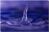 Water Drop Art Photography, Liquid Structures - Macro