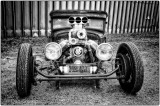 Rat Rod in Monochrome