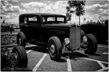 1932 Ford Sedan in Deep Black