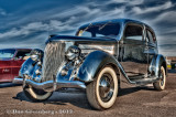 1936 Ford in Stainless Steel