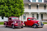 1946 Dodge and 1936 Chevy Pickups