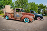 1940 Ford and 1950 Chevy Pickups