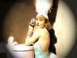 Carole: mystery showgirl in flood