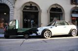 Midget Delivery Truck & Mini Cooper