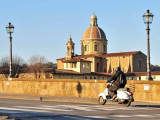Vespa Scoots Towards Carmine