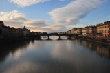 Evening Begins On The Arno