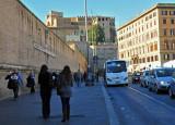 Along The Vatican Wall