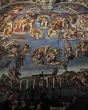 The Crucifix in the Sistine Chapel